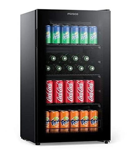 Refrigerador Para Bebidas Con Puerta De Vidrio