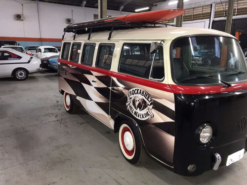 Vw Kombi 1989 - Customizada Retro
