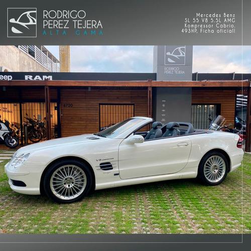 Mercedes-benz Sl 55 V8 Kompressor 493hp Ficha Oficial Único!