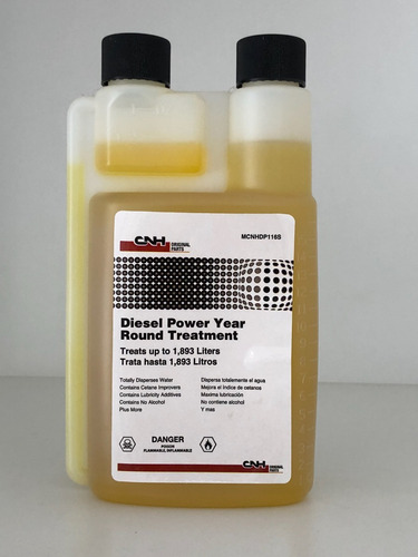 Aditivo Cnh, Origen Usa, Diésel Power Round Treatment