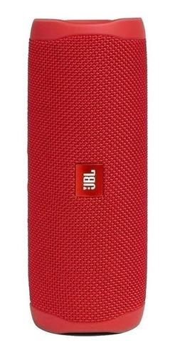 Parlante Jbl Flip 5 Portátil Con Bluetooth Red 110v/220v