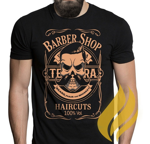 Camiseta Camisa Barber Shop Barbeiro Barbearia Promoção