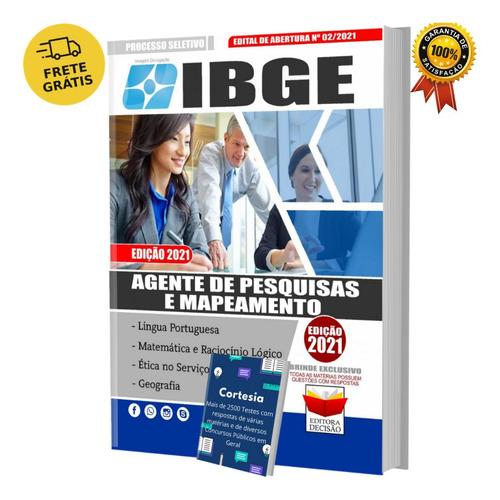 Apostila Agente De Pesquisa Mapeamento Concurso Ibge