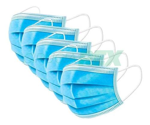 Barbijo Tapaboca Máxima Protección Descartable X 50