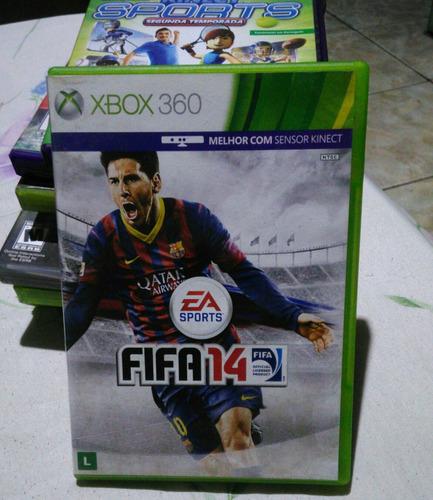 Jogo Do Xbox 360 Original Semi-novo Fifa 2014