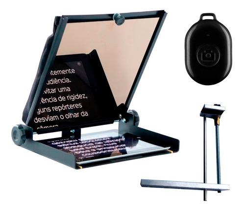 Teleprompter Gazpromptlite Controle E Suporte P Smartphone