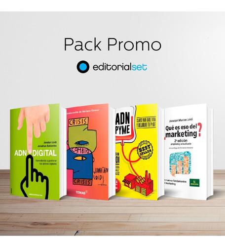 Pack Promo 4 Libros Editorial Set