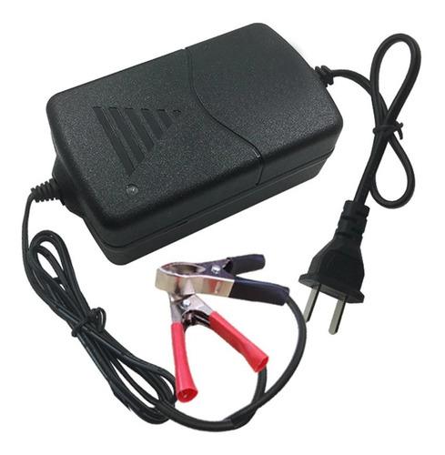 Cargador Batería Automóvil O Moto Protección Corto