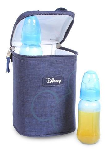 Porta Mamadeira Térmico Mickey Mouse Disney Baby Azul