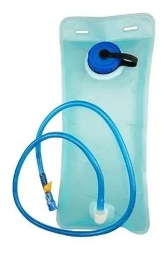 Refil Mochila Bolsa Hidratação 2 Litros Agua Ciclismo Verde