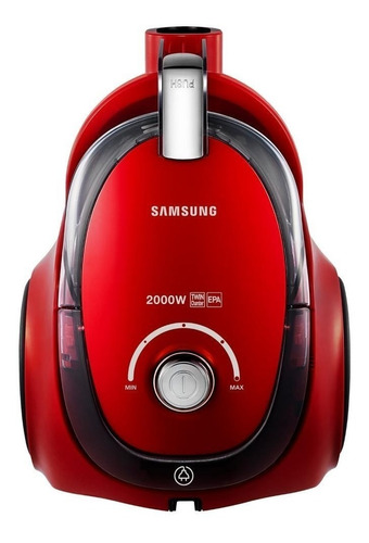 Aspiradora Samsung Vcma20cc 1.5l  Roja 220v
