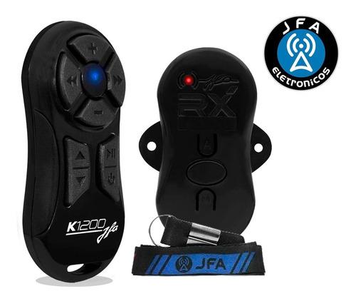 Controle Para Som Automotivo Longa Distância Jfa K1200 Cores