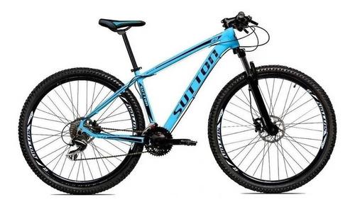 Mountain Bike Sutton New Aro 29 17  24v Freios De Disco Hidráulico Câmbios Shimano Y Shimano Altus Cor Azul