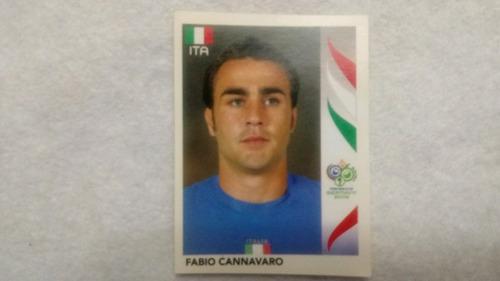 Figurita Mundial Alemania 2006 Fabio Cannavaro