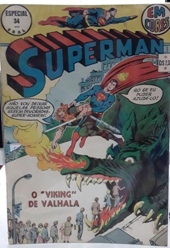 Superman Em Cores Especial 34