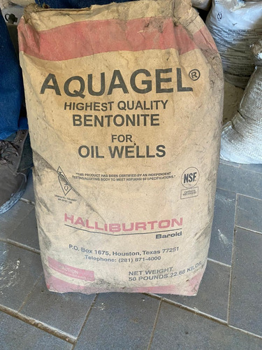 Bentonita Aquagel Por Sacos 22.68kg