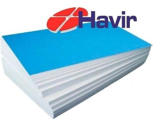 Papel Havir Sublimatico A4 Fundo Azul 100 Folhas