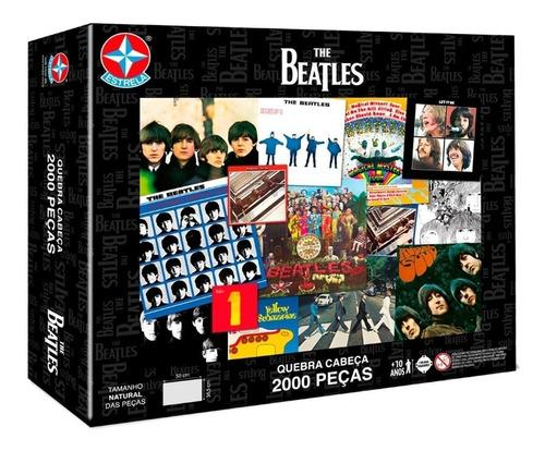 Quebra-cabeça Estrela The Beatles De 2000 Peças