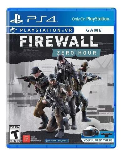 Firewall Zero Hour  Siea Ps4  Físico