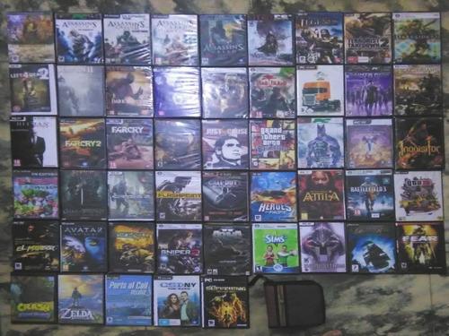 Colección Juegos Pc  Fisicos  Cajas Dvd