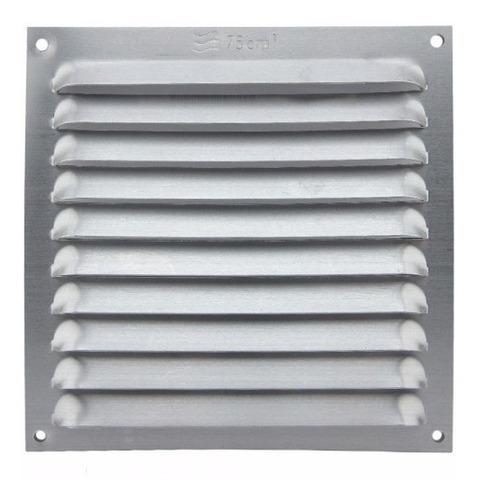 Rejilla Ventilacion En Aluminio 15 X 15 Cms