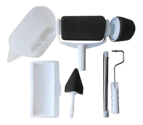 Rodillo Microfibra Recargable Extensible Rodillo Bordes Kit