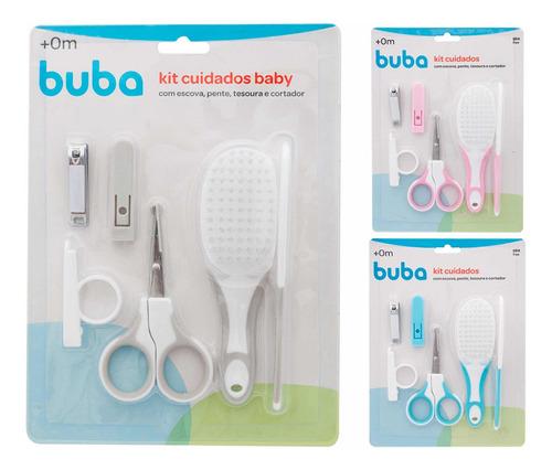 Kit Cuidados E Higiene Bebê-pente,escova E Cortador De Unha