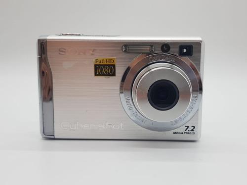 Câmera Digital Sony Cybershot Dsc w80 Full Hd 1080