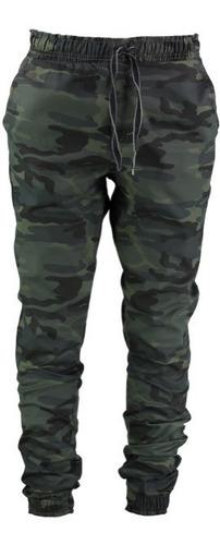Calça Jogger Masculina Sarja E Jeans Com Lycra