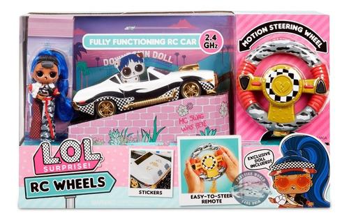 Lol Surprise Jk Downtown Doll Rc Wheels Auto Control Remoto!
