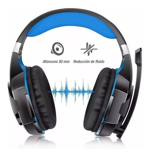 Headphones Gamer Kotion G2000 Blue Headband - Ecart