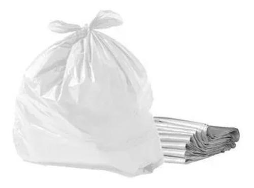 Saco Para Lixo 20 Litros Branco Com 100 Unidades