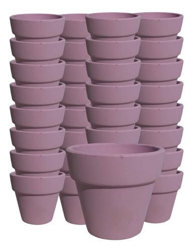 Macetita Barro 20 Macetas En Ceramica De Barro Color - El Re