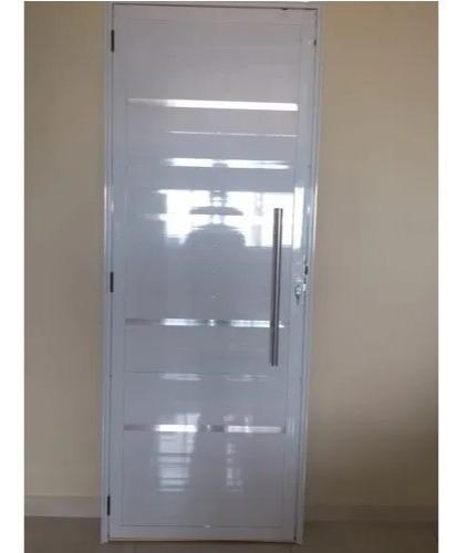 Porta Lambril C/puxador Branca 210x080 Sem Vidro L.25