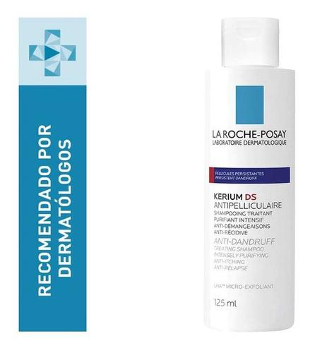 Shampoo Kerium  125ml Ds Intensivo Anticaspa La Roche Posay