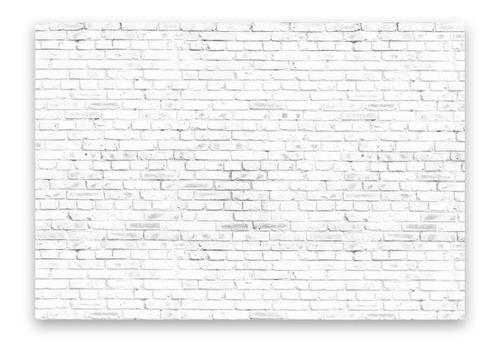 Fundo Fotográfico Parede Tijolos Brancos Em Tecido 1, 20x1, 75
