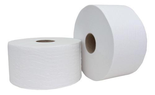 Papel Higiénico Blanco  Institucional 250mt Nieve Pack X4un