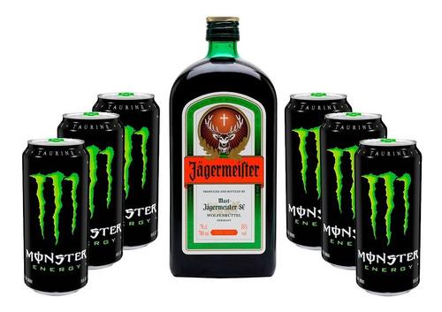 Pack Jagermeister 700cc + Monster Energy Por 6