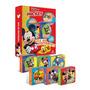 Livro Box De Histórias Mickey Mouse Com 6 Minilivros