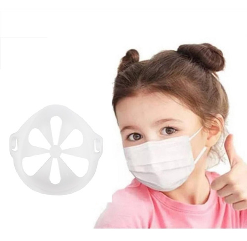 3d Suporte De Máscara, Respirando Suavemente Reutilizável