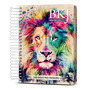 Bíblia King James 1611 Anote Espiral Lion Colors Bkj