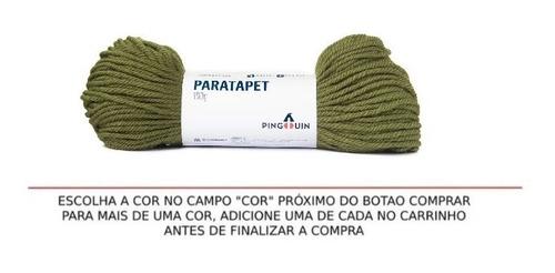 Novelo De Lã Paratapet Pingouin 100g Tapeçaria Croche Arte