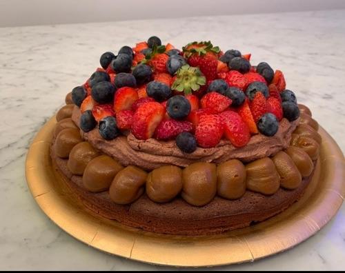 Torta Mousse De Chocolate.  Belgrano.