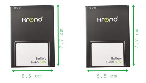 Batería Celular Krono Net Titán 2800 Mah 100% Nueva