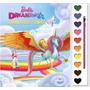 Livro Pincel Aquarela Guache Baerbie Dreamtopia