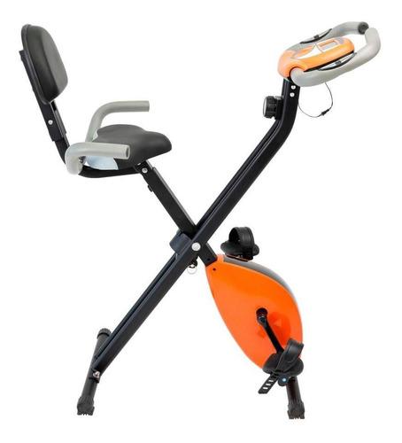 Bicicleta Ergometrica Vertical Dobravel Em X Exercício Perna