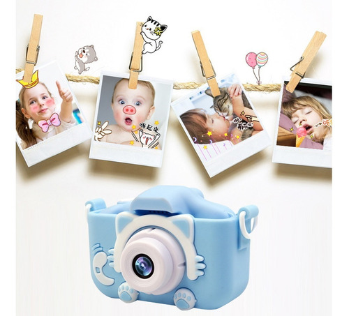 Câmera Infantil Mini Novidade Capa Cartão Memoria 8gb Nf