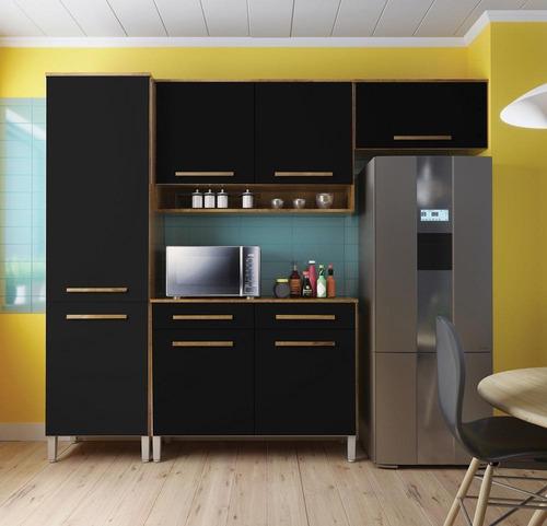 Cozinha Compacta Rebeca  7 Portas 2 Gav.