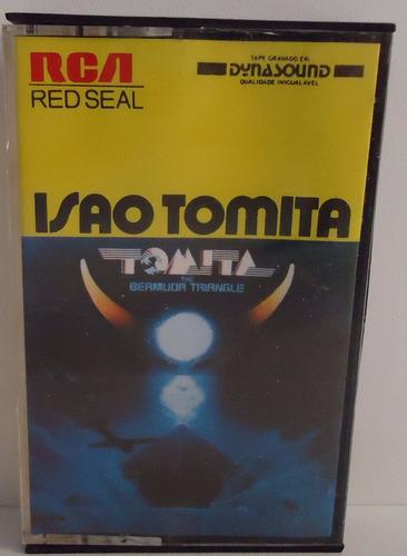 Fita K7 Isao Tomita - The Bermuda Triangle (box 5) Original