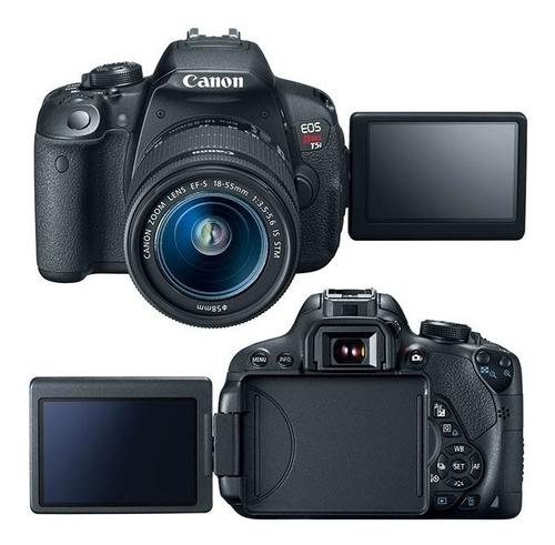 Câmera Canon T5i Com Lente 18 55mm Bolsa